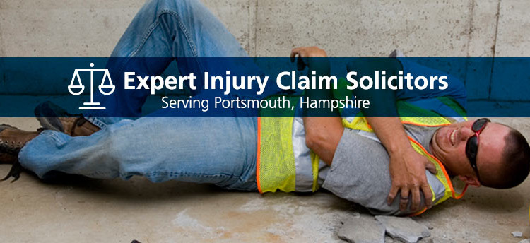 work injury accident claim solicitors serving portsmouth, fareham and gosport